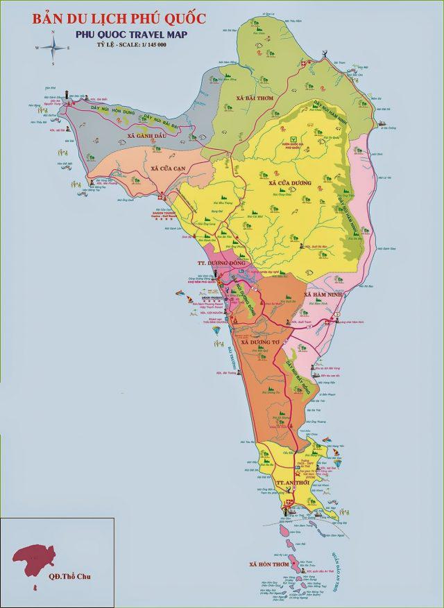 bản đồ Phú Quốc Mới
