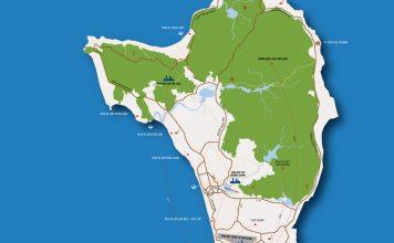 bản đồ Phú Quốc 2019 mới nhất