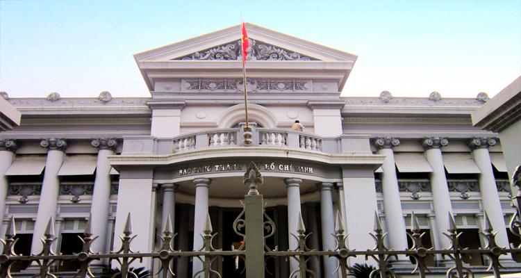 Bảo tàng Thành phố Hồ Chí Minh - toàn cảnh