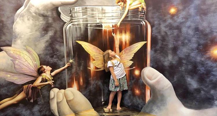 Bảo tàng tranh 3D - thần tiên