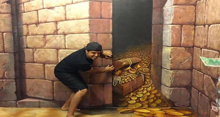Bảo tàng tranh 3D - egypt