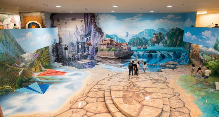 Bảo tàng tranh 3D - toàn cảnh