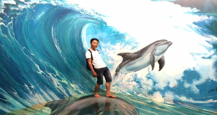 Bảo tàng tranh 3D - aqua