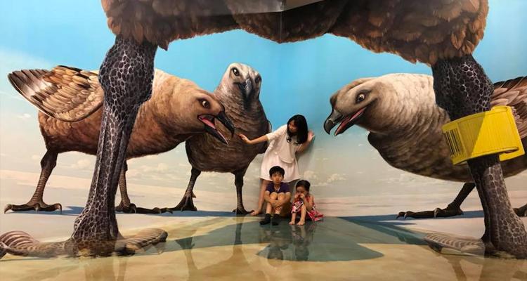 Bảo tàng tranh 3D - động vật