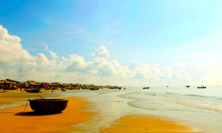 Biển Long Hải - biển sạch