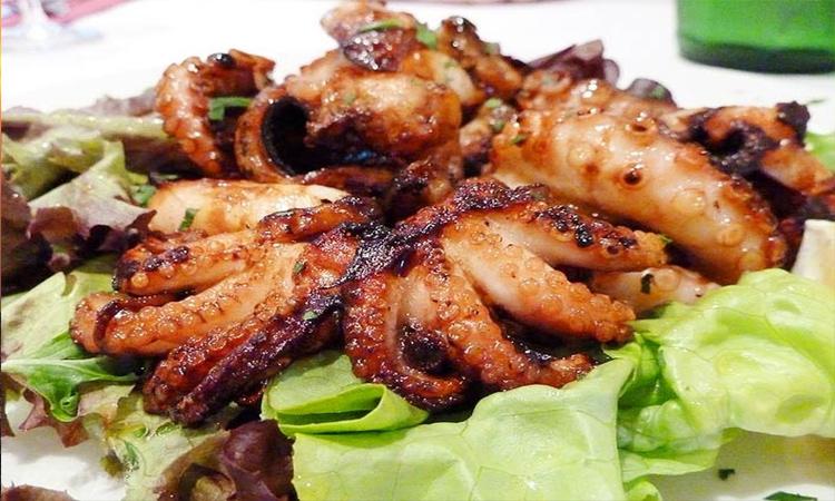 Biển Long Hải - đồ ăn