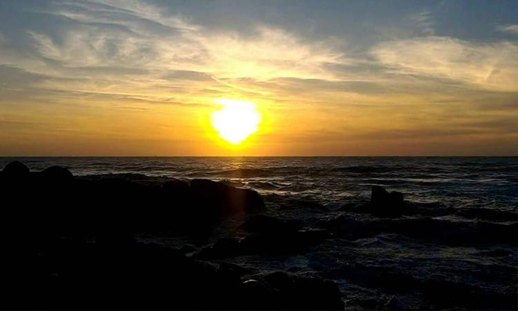 Biển Long Hải - bình minh