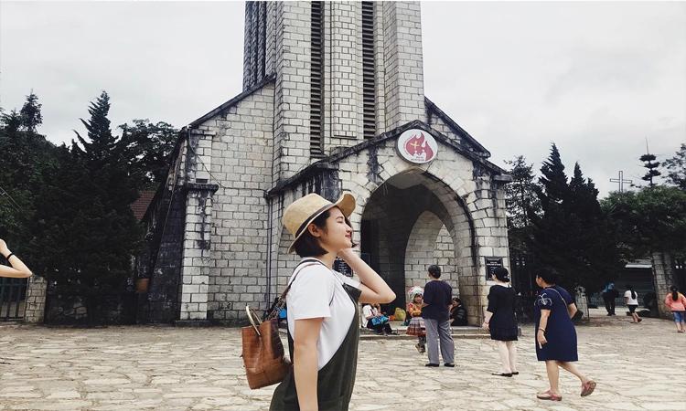 Cảnh đẹp Sapa - nhà thờ