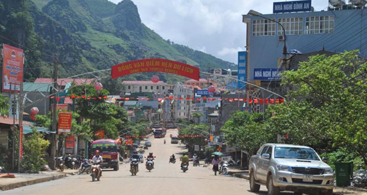 Cao nguyên đá Đồng Văn thị trấn Đồng Văn