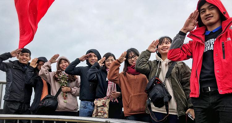 Checkin cột cờ Lũng Cú cao nguyên đá Đồng Văn