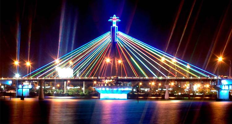 Cầu Quay sông Hàn 01
