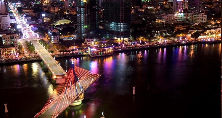 Cầu Quay sông Hàn 03