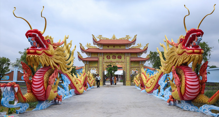 Chùa Bửu Long - Đền thờ tổ của nghệ sĩ Hoài Linh
