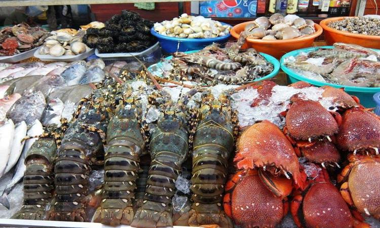 Chợ đêm Phú Quốc - hải sản