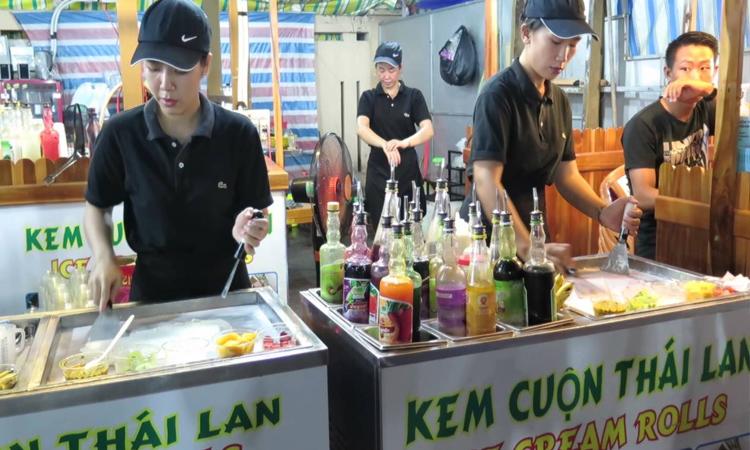 Chợ đêm Phú Quốc - kem