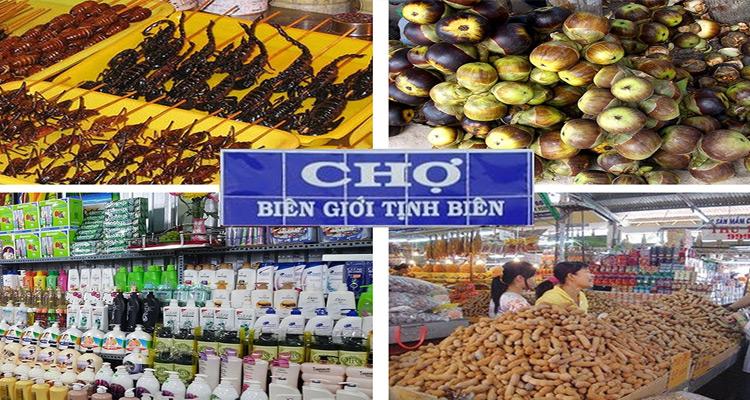 Lạc lối ở Chợ Tịnh Biên - Chợ biên giới sầm uất ở An Giang