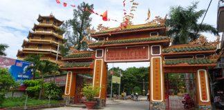 Chùa Giác Lâm - cổng chùa