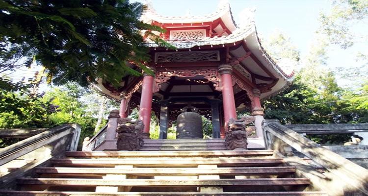 Nét kiến trúc độc đáo của chùa Long Sơn