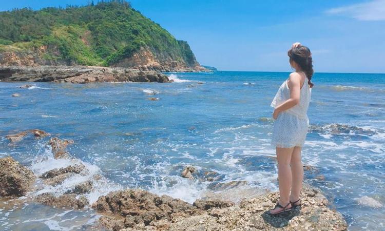Cô Tô ở đâu - bãi biển