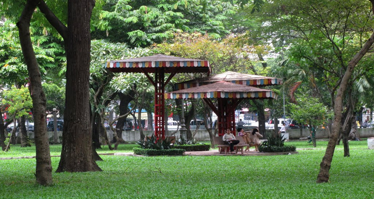 Công viên Lê Văn Tám - trẻ em