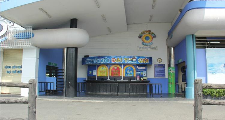 Công viên nước Đại Thế Giới - bán vé