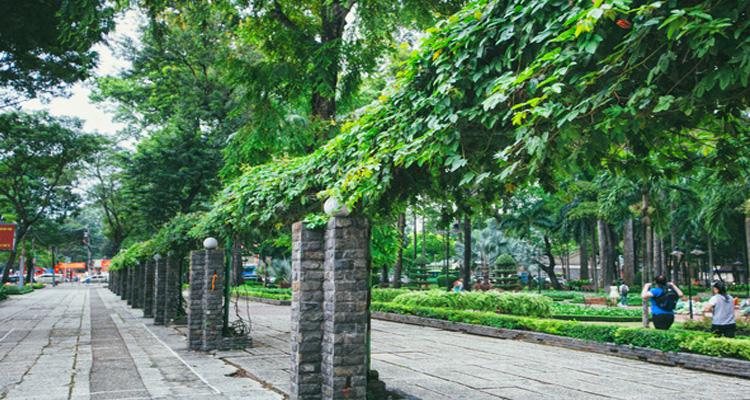 Công viên Tao Đàn là địa điểm vui chơi lý tưởng ở Sài Gòn