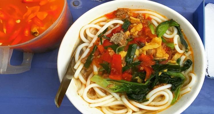 Đặc sản Nam Định - bún đũa