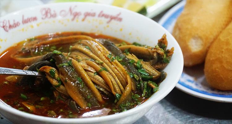 Đặc sản Nghệ An - cháo lươn
