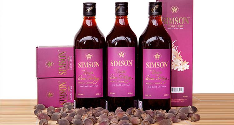 Đặc sản Phú Quốc - rượu sim