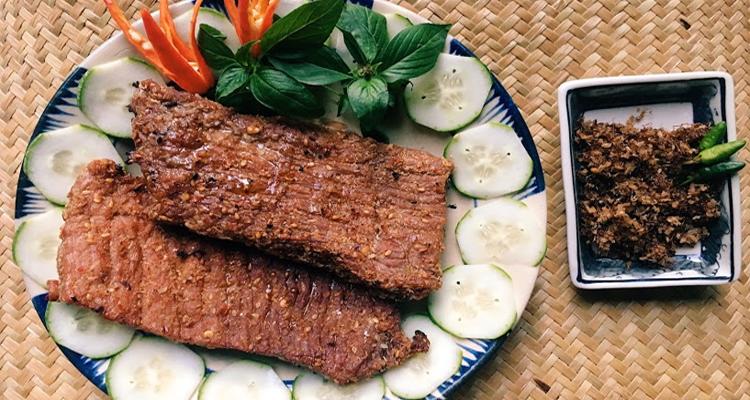 Đặc sản Phú Yên - thịt bò