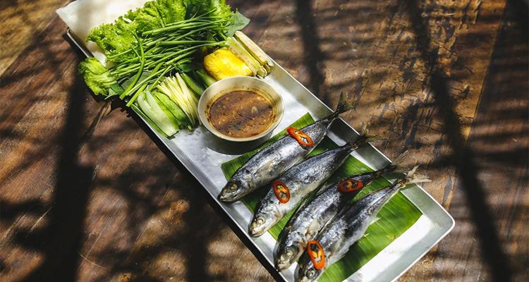 Đặc sản Phú Yên - ăn kèm