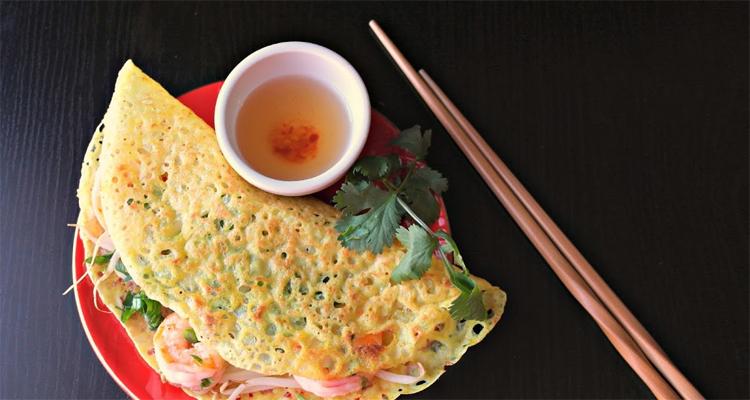 Đặc sản Phú Yên - bánh xèo