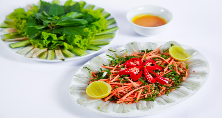 Đặc sản Phú Yên - gỏi cá