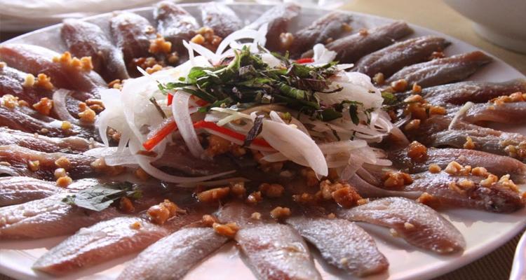 Đặc sản Quảng Bình - gỏi cá