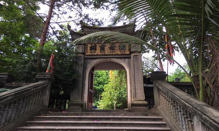 Đền mẫu Lào Cai - cổng đền