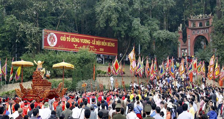 Giỗ tổ Hùng Vương nên đi đâu - đại lễ