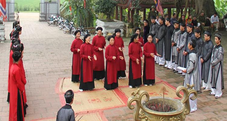 Giỗ tổ Hùng Vương nên đi đâu - hát Xoan