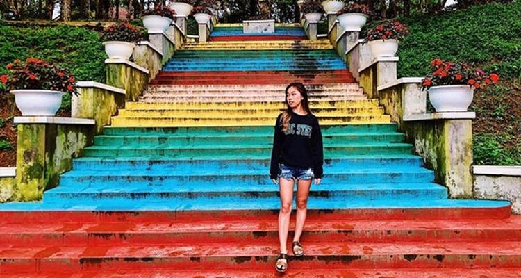 Địa điểm du lịch Đà Lạt - cầu thang