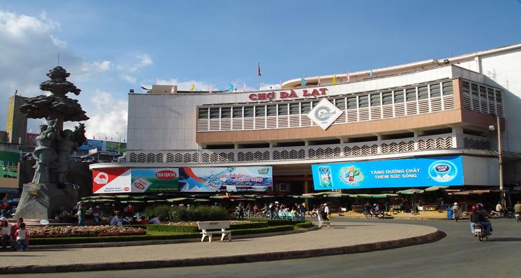 Địa điểm du lịch Đà Lạt - chợ