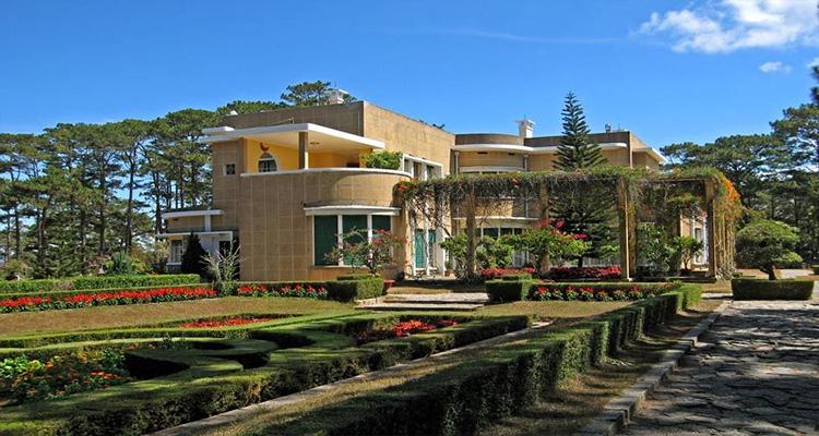 Dinh Bảo Đại - kiến trúc