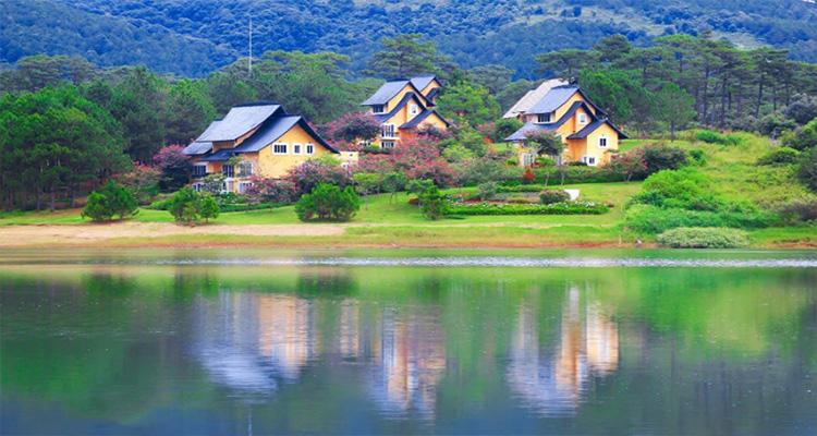 Dinh Bảo Đại - hò Tùng Lâm