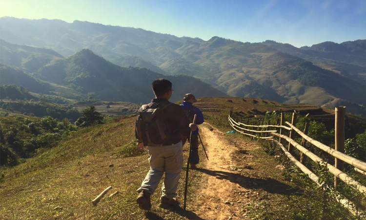 Đỉnh Pha Luông - leo núi