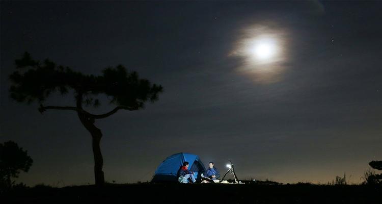 Đồi Thiên Phúc Đức - cắm trại