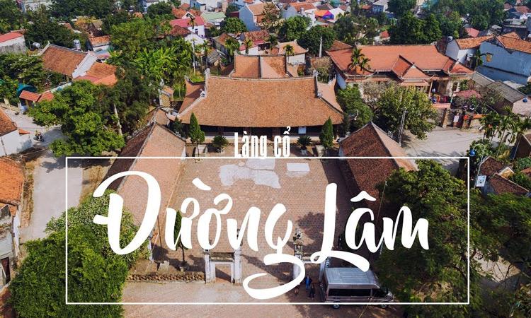 Du lịch gần Hà Nội - làng cổ