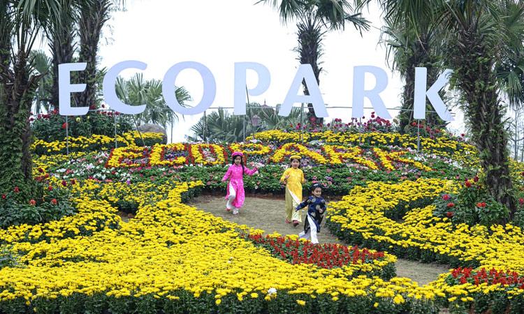 Du lịch gần Hà Nội - ecopark