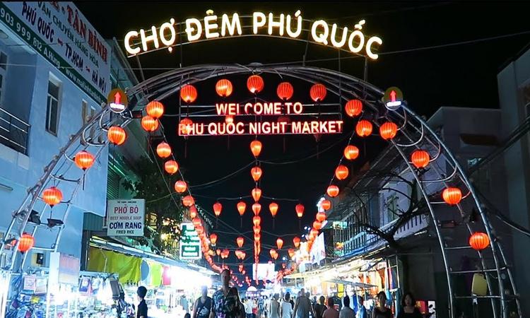 Du lịch Phú Quốc tự túc - chợ đêm