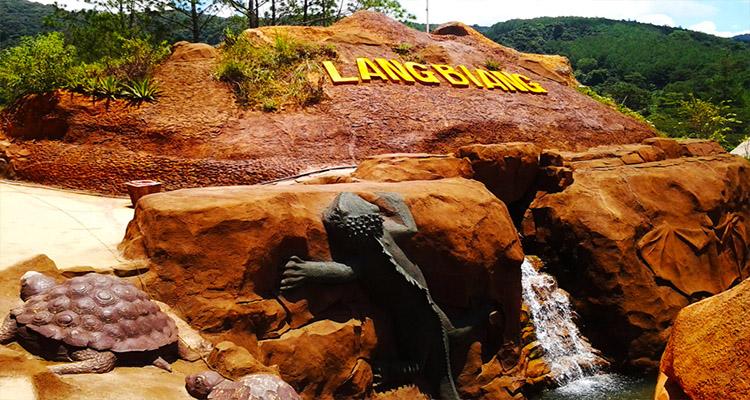 Đường hầm đất sét - Cao nguyên Langbiang