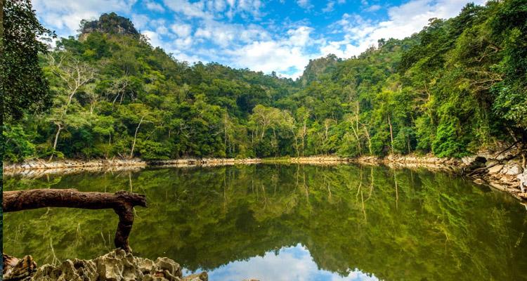 Du lịch hồ Ba Bể ao tiên