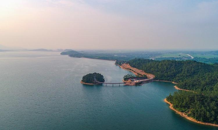 Hồ Kẻ Gỗ - hà tĩnh