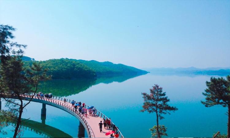 Hồ Kẻ Gỗ - checkin
